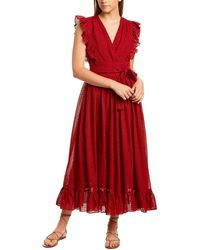 Robert Rodriguez Charlotte Maxi Dress - Red