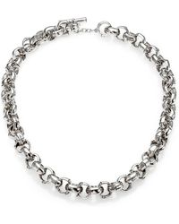 John Hardy - Bamboo Sterling Silver Link Necklace - Lyst