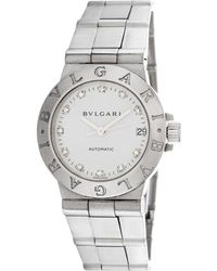 BVLGARI Bulgari Women's Diagano Diamond Watch - Metallic