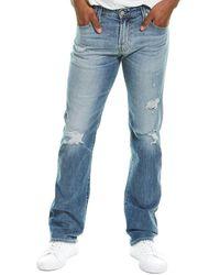 AG Jeans The Matchbox 21 Years Slim Straight Leg Jean - Blue