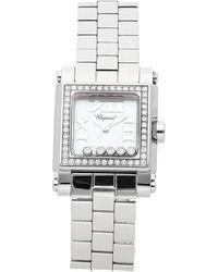 Chopard Chopard Women's Stainless Steel Diamond Watch - Metallic