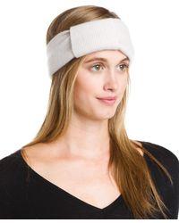 Portolano Women's Cashmere Headband - Brown