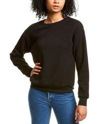 Project Social T Syd Distressed Sweatshirt - Black
