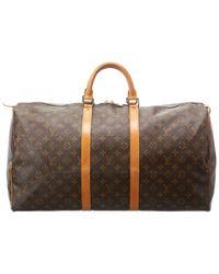 Louis Vuitton Monogram Canvas Keepall 55 - Brown