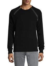 Givenchy Zip Accented Jumper - Black