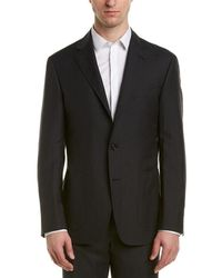 Canali Kei Wool & Linen-blend Sport Coat - Grey