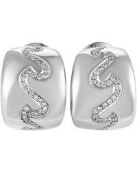 Van Cleef & Arpels Vintage Van Cleef & Arpels 18k 0.90 Ct. Tw. Diamond Drop Earrings - Metallic
