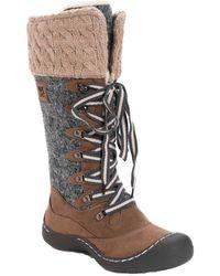 Muk Luks Ginny Snow Boot - Grey