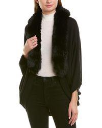 La Fiorentina Knit Wool Cocoon - Black