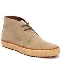 Frye Emory Suede Chukka Boot - Natural