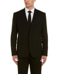 Martin Greenfield Clothiers - Martin Greenfield Piped Wool Suit With Flat Front Pant - Lyst