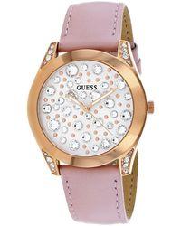 Guess Women's Wonderlust Watch - Pink