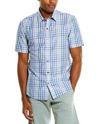 Zachary Prell Weaver Woven Shirt - Blue