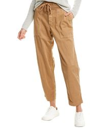 James Perse Clean Cargo Pant - Yellow