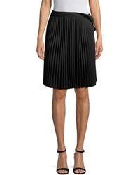 Balenciaga Pleated Skirt - Black