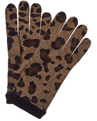 Forte Leopard Tech Gloves - Brown
