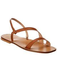 Joie Baleri Leather Sandal - Brown