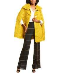 Missoni Mohair & Alpaca-blend Coat - Yellow