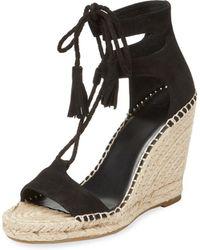 Joie - Delilah Leather Wedge Sandal - Lyst