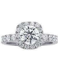 Diana M. Jewels . Fine Jewellery 18k 2.46 Ct. Tw. Diamond Ring - Metallic