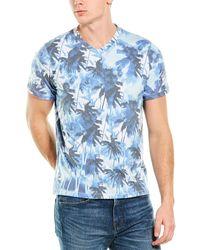 Sol Angeles Mirage Print Graphic T-shirt - Blue