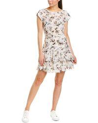Rebecca Taylor - Sofia Silk A-line Dress - Lyst
