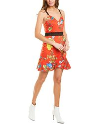 Alice + Olivia Kirby Mini Dress - Red