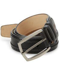Mezlan - Diver Leather Belt - Lyst