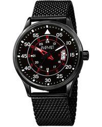 August Steiner Stainless Steel Watch - Black