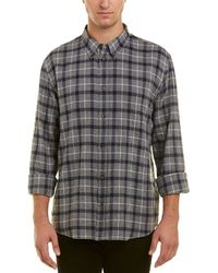 Billy Reid Slim Fit Button Down Murphy Shirt - Grey