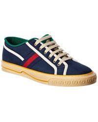 Gucci - Tennis 1977 Canvas Sneaker - Lyst