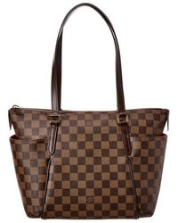 Louis Vuitton Damier Ebene Canvas Totally Pm Nm - Brown