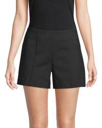 Saks Fifth Avenue Black Tailored Power Stretch Shorts - Black