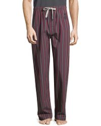 Psycho Bunny - Printed Cotton Pants - Lyst