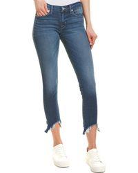 Hudson Jeans Krista Reigning Super Skinny Ankle Cut - Blue