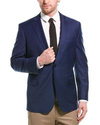 Brooks Brothers Explorer Regent Fit Wool-blend Suit Jacket - Blue