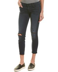 J Brand Low-rise Skinny Crop - Black