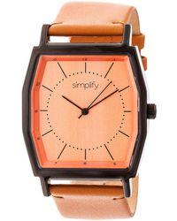 Simplify Unisex The 5400 Watch - Multicolour