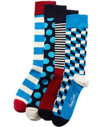 Happy Socks Pack Of 4 Socks