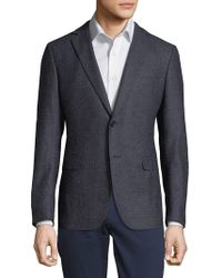 Saks Fifth Avenue | Microfancy Wool Sports Jacket | Lyst