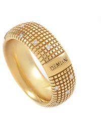 Damiani 18k 0.14 Ct. Tw. Diamond Ring - Metallic