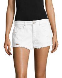 Mcguire - Pom-pom Distressed Cut-off Shorts - Lyst