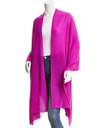White + Warren White And Warren Cashmere Wrap - Pink