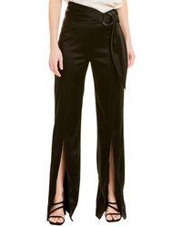 Jonathan Simkhai Tie-front Pant - Black