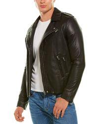 IRO Aronel Leather Biker Jacket - Black
