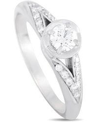 BVLGARI Bulgari Platinum 0.36 Ct. Tw. Diamond Engagement Ring - Metallic