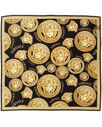 Versace Medusa Amplified Print Silk Scarf - Multicolor