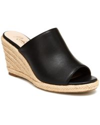 Nanette Lepore Nanette By Quiet Wedge Sandal - Black
