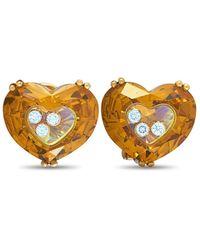 Chopard 18k 0.34 Ct. Tw. Diamond Earrings - Multicolour