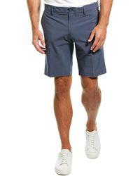 J.Lindeberg M Eloy Regular Fit Micro Stretch Short - Blue